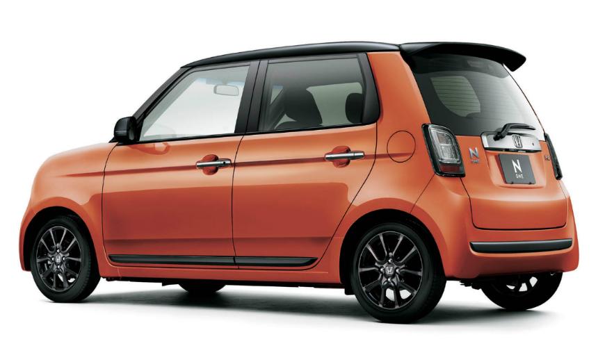 Компания Хонда обновила «смешной» ретро-автомобиль N-One