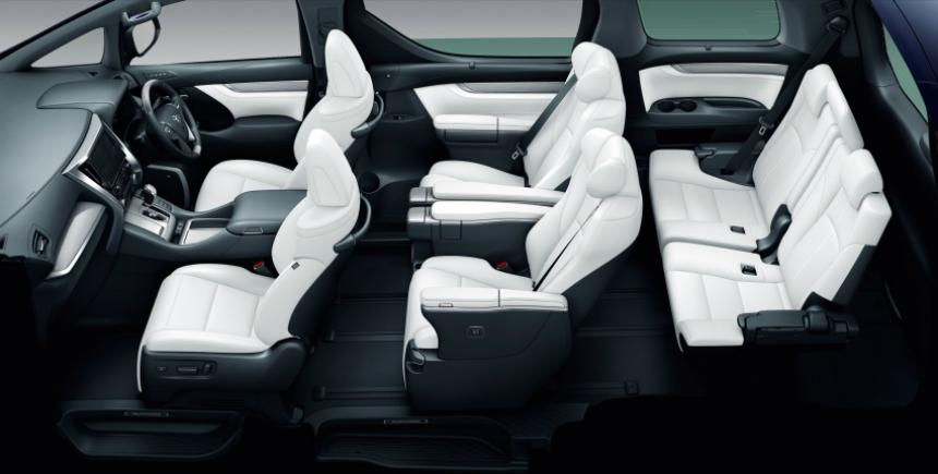 В Японии представлены обновленные минивэны Toyota Alphard и Vellfire