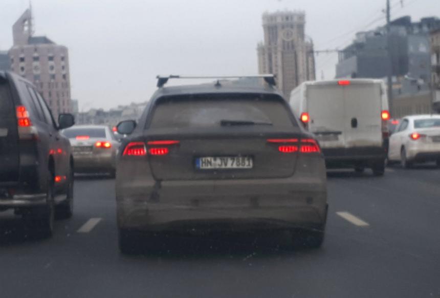 Audi Q8 на улицах Москвы — Авторевю