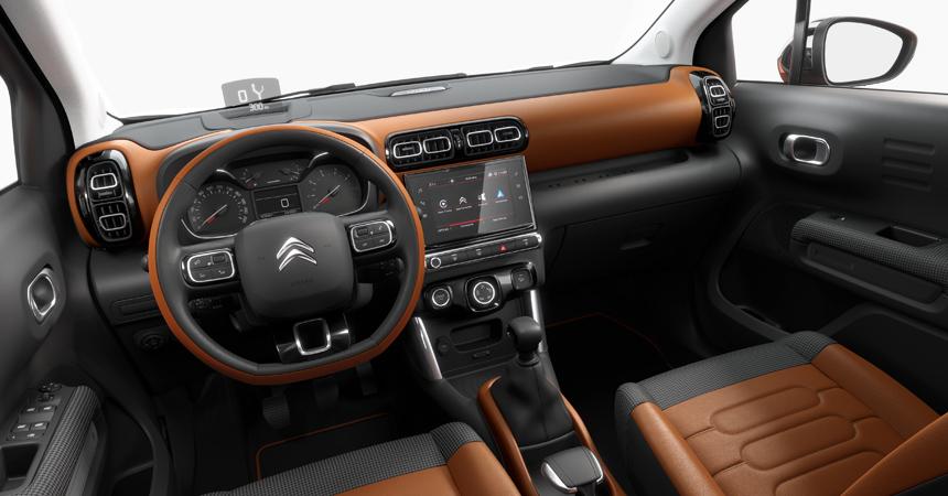 Представлен компактный паркетник Citroen C3 Aircross