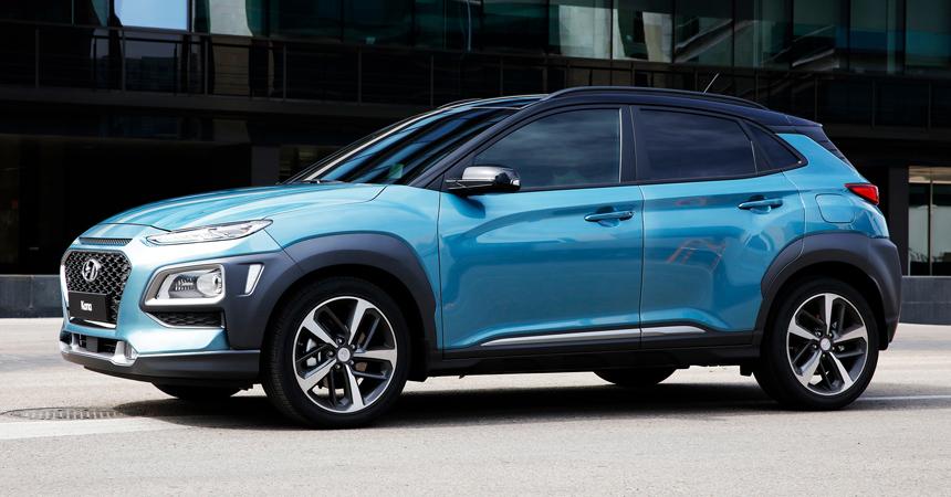 Обновленный паркетник Hyundai Kona показали на тизерах