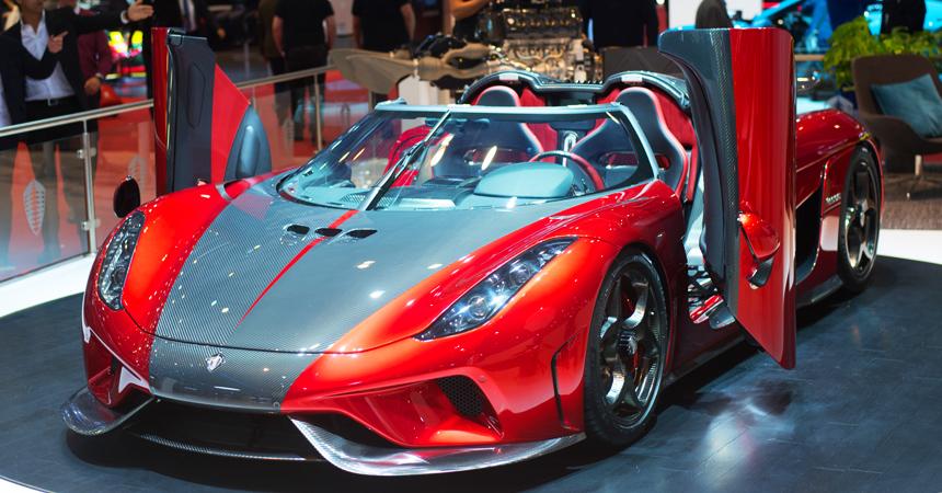 Koenigsegg распродал весь тираж гиперкара Regera