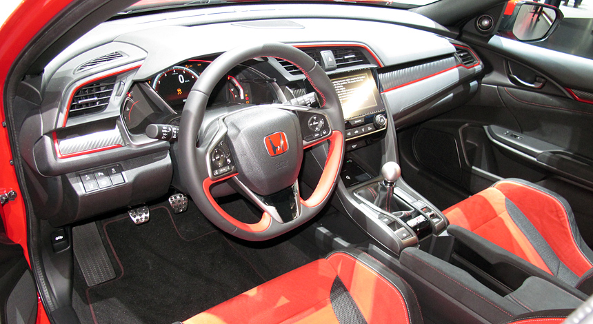 Огласили стоимость нового хэтчбека Хонда Civic Type R