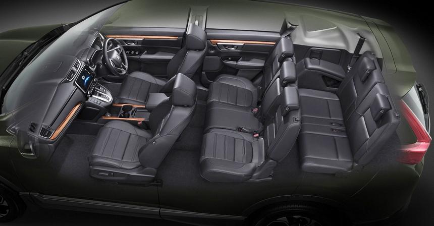 Тайский пассаж: кроссовер Хонда CR-V обзавелся 3-м рядом кресел