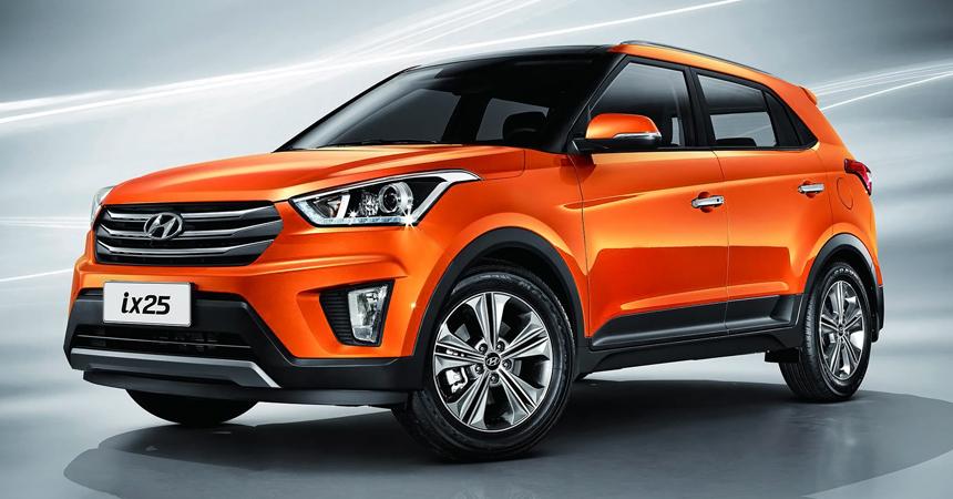 Нынешний Hyundai ix25 для Китая