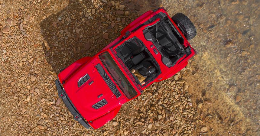 Появились первые официальные кадры нового Jeep Wrangler 2018