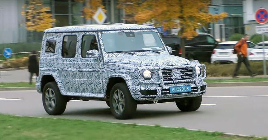 Вглобальной сети  рассекретили дизайн  нового Mercedes G-Class