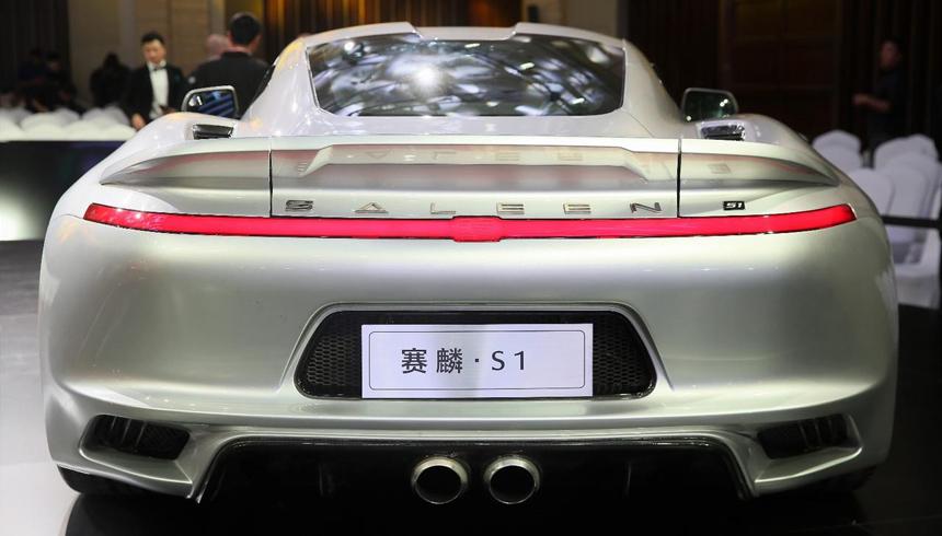 ВКитайской народной республике представлен среднемоторный спорткар Saleen S1