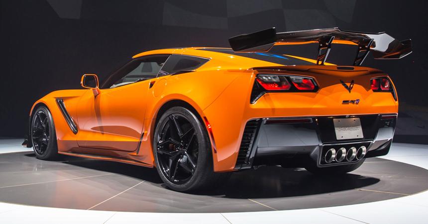 Шевроле представил 755-сильный Corvette ZR1&nbsp— монарх возвращается