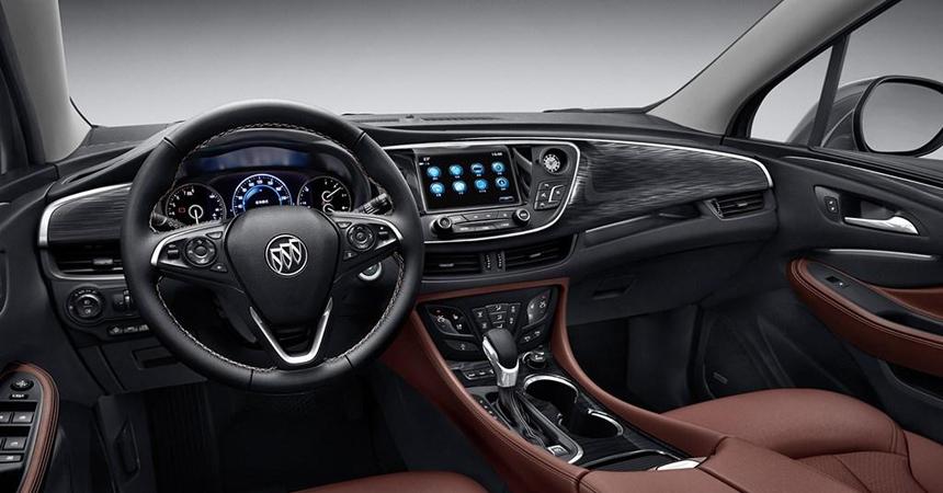 Размещены первые живые фото нового кроссовера Buick Envision