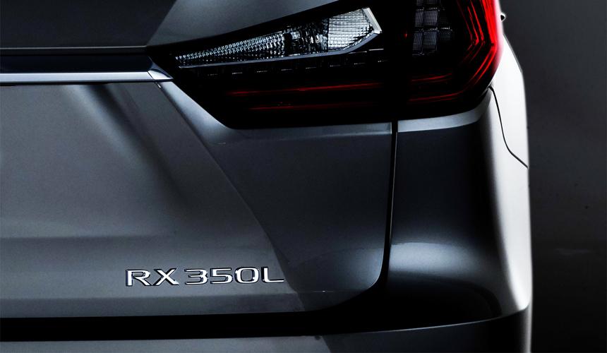 Официально: семиместный Lexus RX L покажут в Лос-Анджелесе