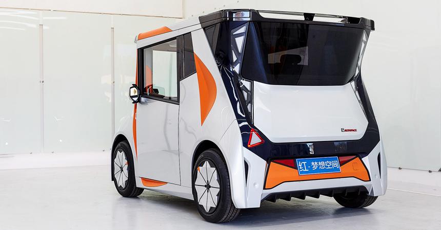 Новоиспеченный электромобиль REDS предоставит возможность обойтись без так называемого стационарного офиса