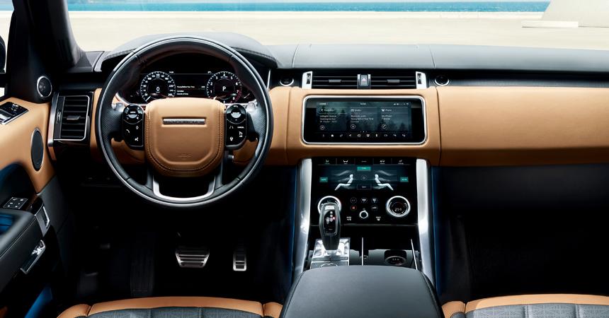Названы цены на улучшенный Range Rover Sport для Российской Федерации