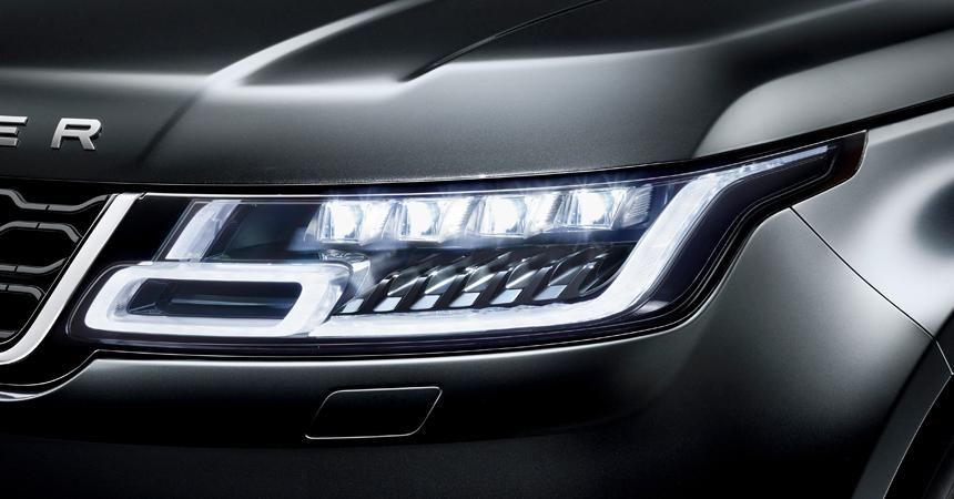 Новый Range Rover Velar доехал до Российской Федерации