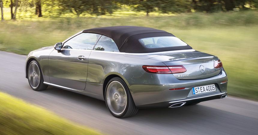 Новый кабриолет Mercedes E-класса: цены в РФ