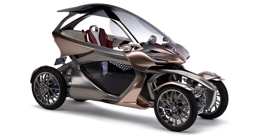 Дальше— больше: Yamaha представит вТокио очередной концептуальный автомобиль