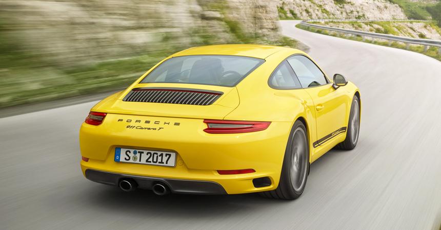 Porsche выпустит новую спортивную линейку 911 Carrera T