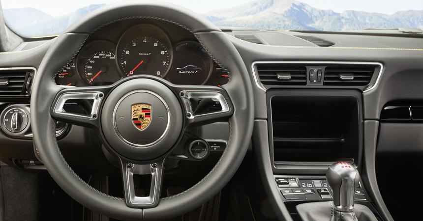 Новый Порш 911 T: практически как R, однако доступнее