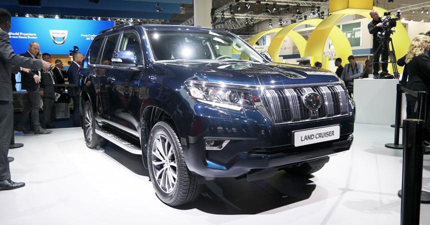 Тойота представляет новый Land Cruiser Prado