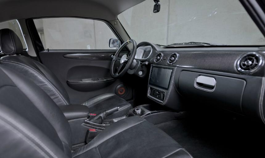 Купе Luka EV — новый чешский электромобиль с мотор-колесами