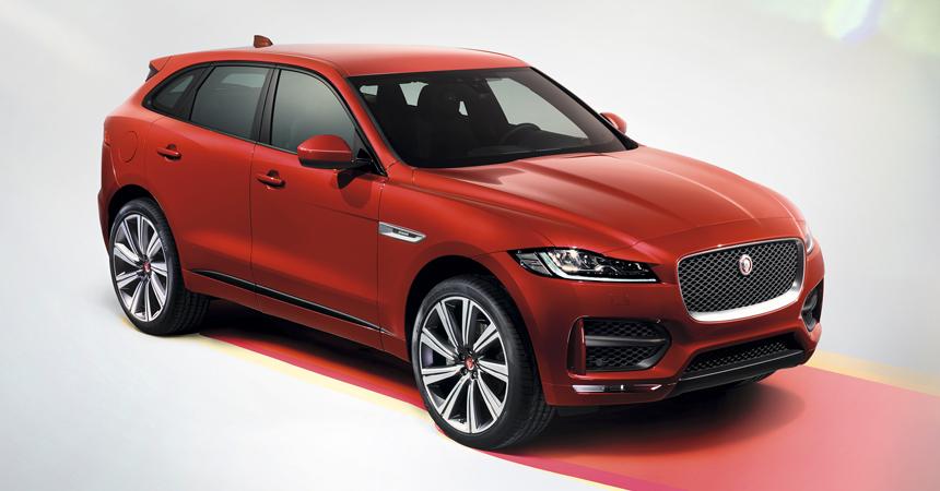 Jaguar готовит большой кроссовер на базе Рейндж Ровера