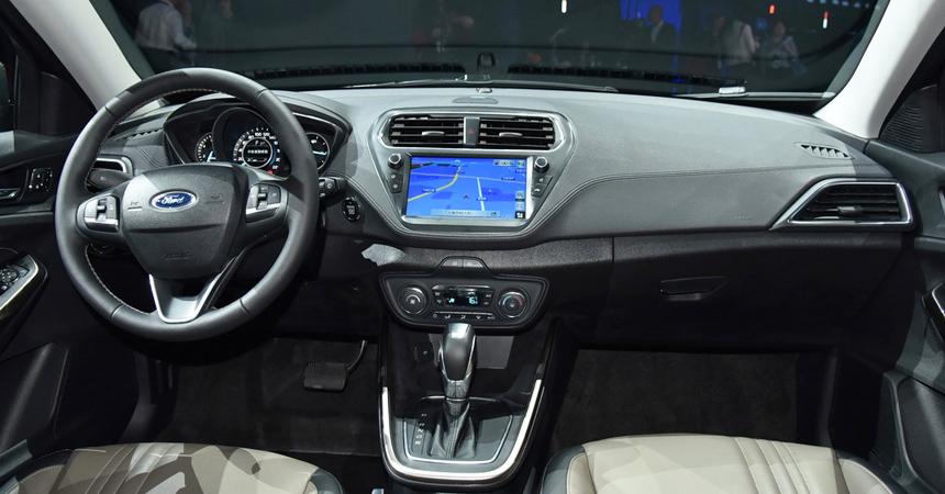 Обновленный Ford Escort: в одном стиле с Фокусом