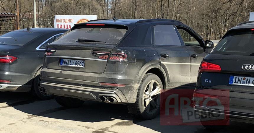 Будущий кроссовер Audi SQ8 замечен в Подмосковье