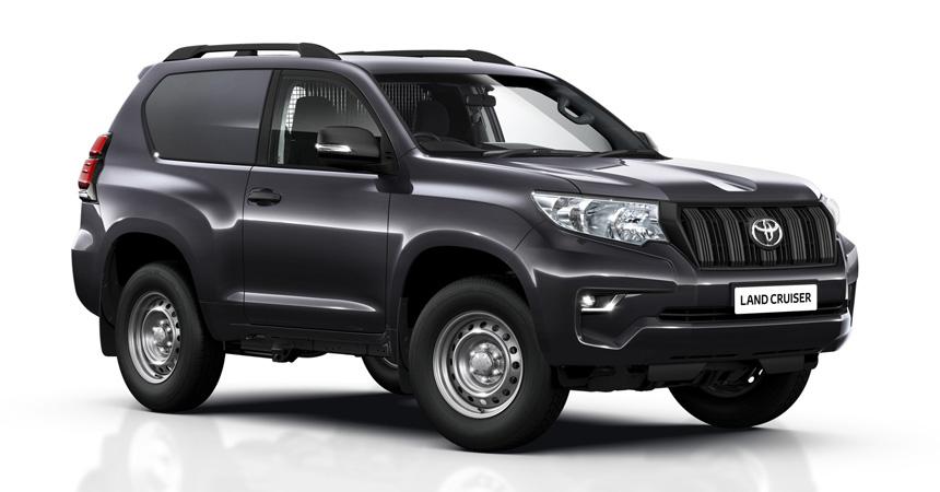 «Прощай, легенда»: новый Тоёта Land Cruiser Prado превратили в«бюджетный» фургон