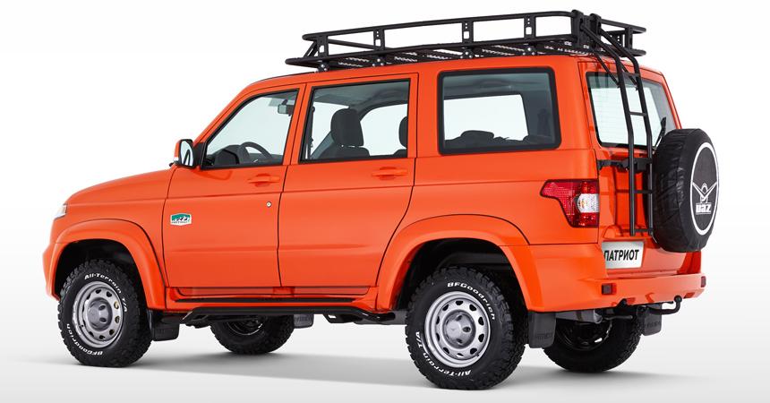 УАЗ › внедорожник УАЗ Патриот получил версию для экспедиций
