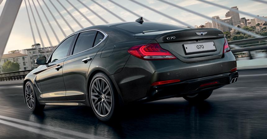 Genesis представил новый седан G70 для Российской Федерации