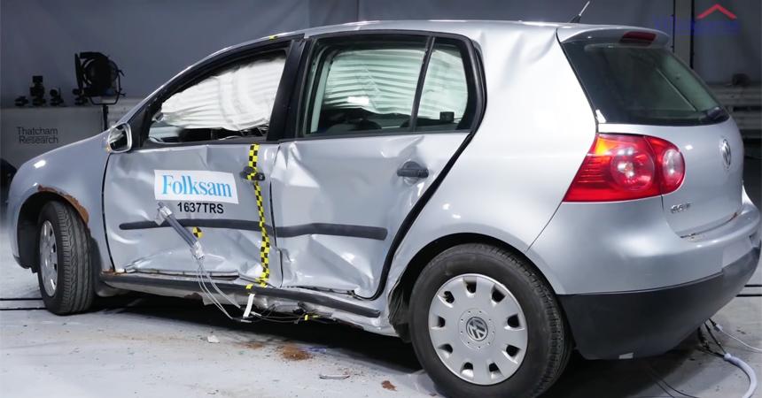 ВШвеции провели краш-тесты подержанных машин— Возраст иржавчина