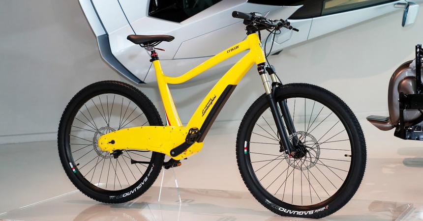 Пока только велосипеды— Электрические Lamborghini