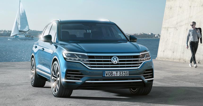 Volkswagen Touareg в России: комплектации и начальная цена