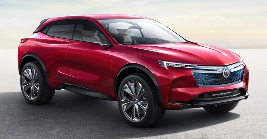ВКитайской республике дебютируют электрический игибридный Buick Velite 6