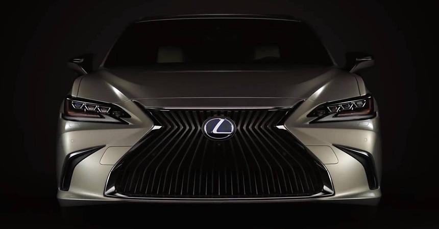 Новый седан Lexus ES: первые изображения