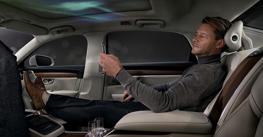 Вольво придумал, как совместить вавтомобиле запахи, виды извуки