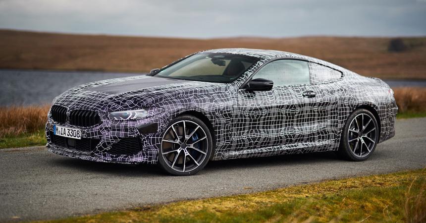 Купе BMW M850i будет иметь новый двигатель V8