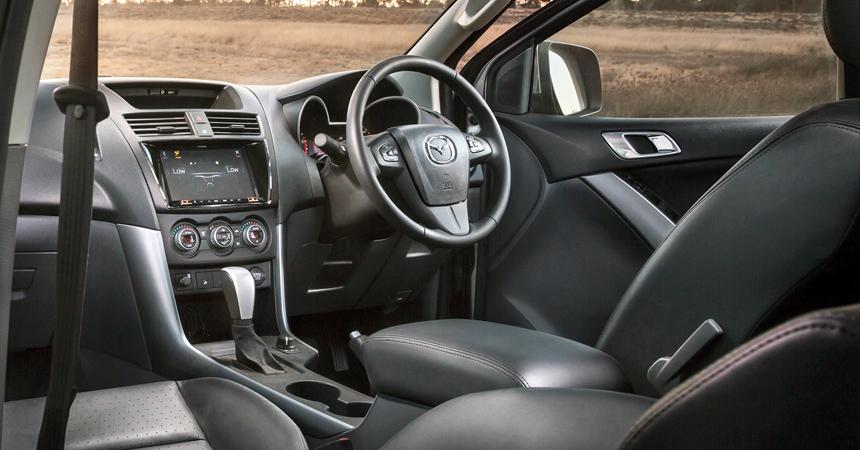 Обновленный пикап Mazda BT-50 подтянулся к современным моделям