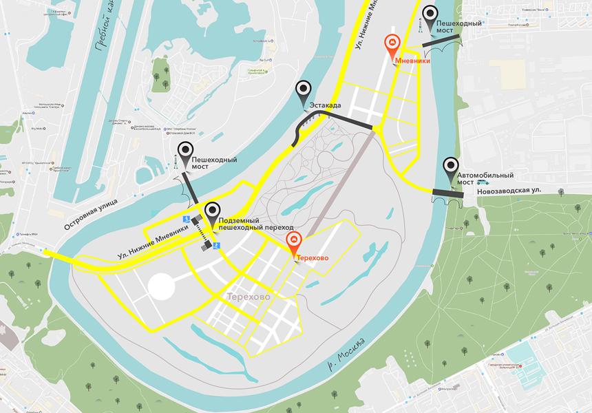 В столице появятся 18 новых мостов через Москву-реку