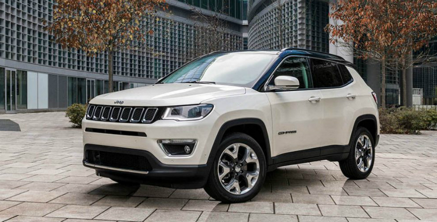 В России начались продажи кроссоверов Jeep Compass