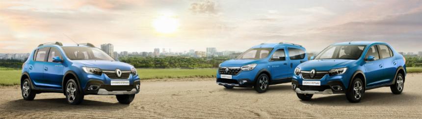 Седан Renault Logan Stepway стал реальностью