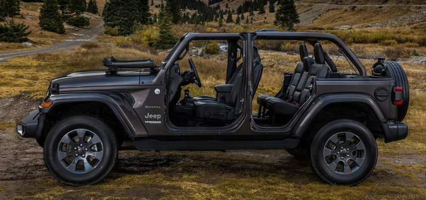 Новый Jeep Wrangler стал самой дорогой моделью марки в России