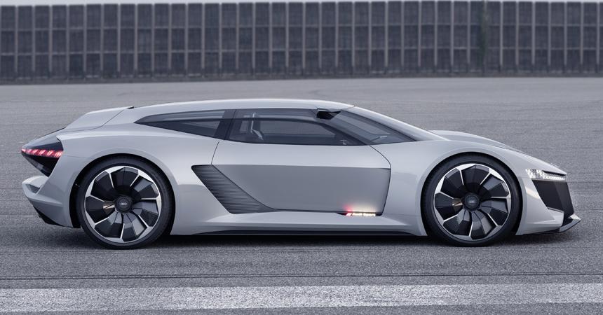 Audi PB18 e-tron: трековый универсал с одноместным салоном