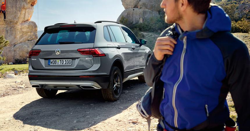VW Tiguan получил внедорожную версию в Российской Федерации
