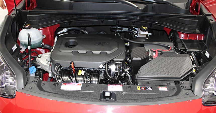 Двигатель 2.4 GDI на обновленном Kia Sportage