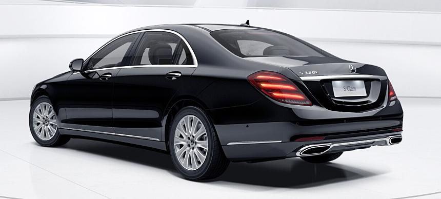 Mercedes S-класса впервые обзавелся двухлитровым турбомотором