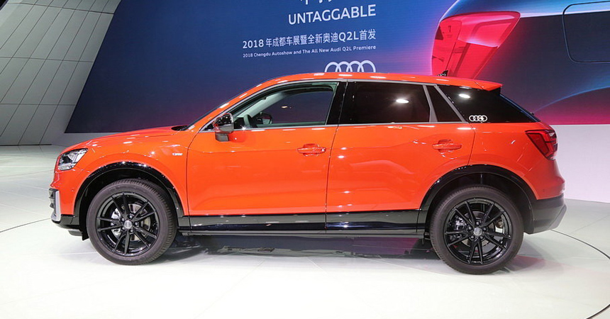 У паркетника Audi Q2 появилась удлиненная версия