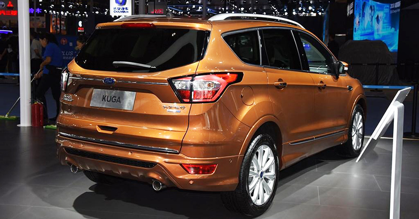 Форд представил вЧэнду улучшенный кроссовер Форд Kuga