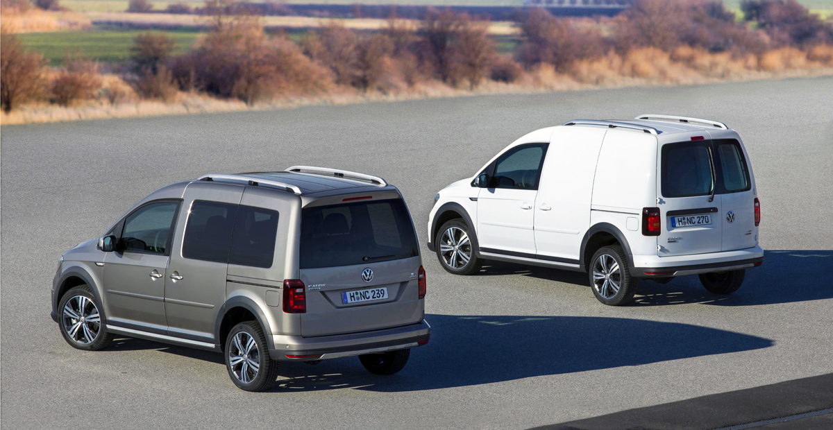 Volkswagen Caddy в России обзавелся тремя новыми моторами