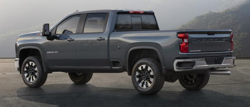 Новый пикап Chevrolet Silverado HD приобрел собственное лицо